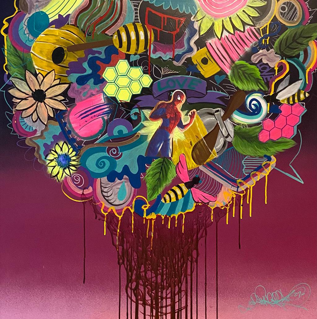 Bild Turrek, René, Graffiti Künstler